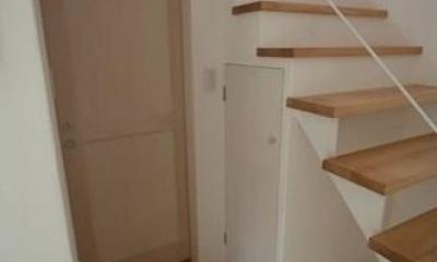 ミックススタイル 上青木の家 (階段(下部))