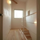 ミックススタイル 上青木の家の写真 階段(上部)