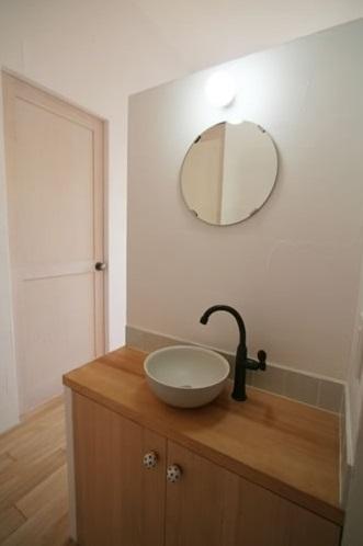 ミックススタイル 上青木の家の部屋 洗面所