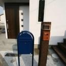 ミックススタイル 上青木の家の写真 郵便受&表札