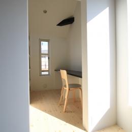 オウチ18・仙台 SOHOの家 (奥様の書斎としての家事室)