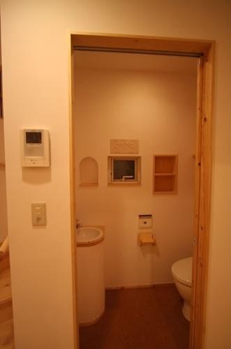 虹のある家の部屋 トイレ