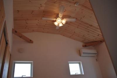 天井 (虹のある家)