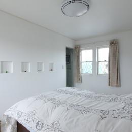 横浜市M邸:旧家の耐震フルリフォーム (ベットルーム)