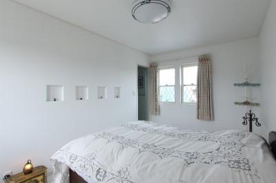 ベットルーム (横浜市M邸:旧家の耐震フルリフォーム)