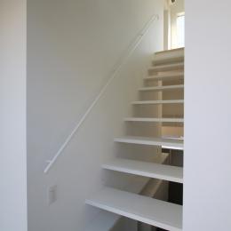 オウチ18・仙台 SOHOの家 (蓄熱暖房を備えた階段室)