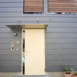 Himawari house (出入り口)