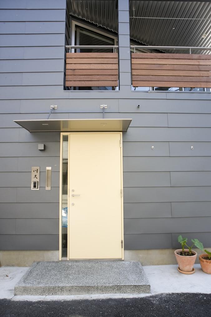 Himawari houseの部屋 出入り口