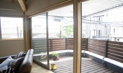 Himawari house (バルコニー)
