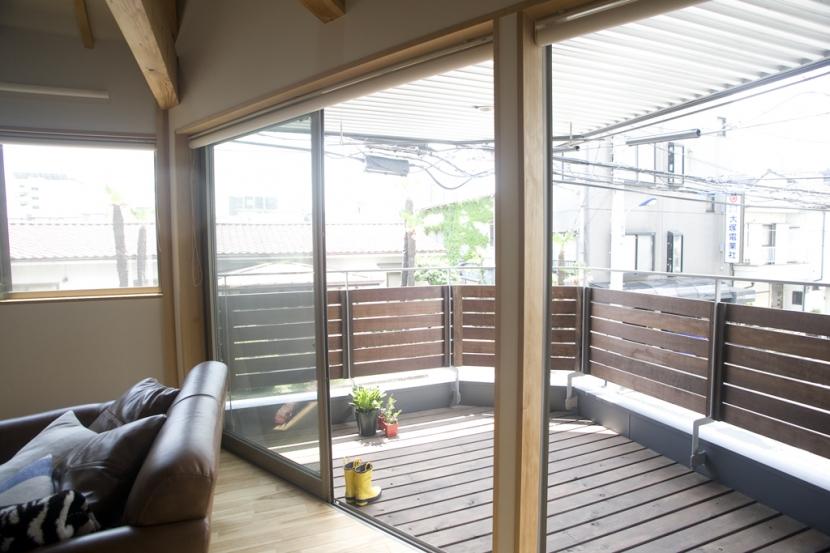 Himawari houseの部屋 バルコニー