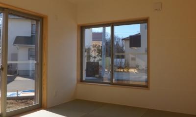 和室|変形敷地に建つ陽がサンサン降りそそぐ家 埼玉県飯能市・O邸