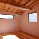 変形敷地に建つ陽がサンサン降りそそぐ家 埼玉県飯能市・O邸の写真 子供部屋