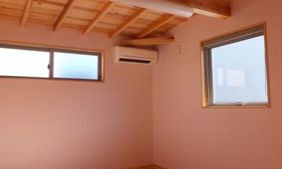 子供部屋|変形敷地に建つ陽がサンサン降りそそぐ家 埼玉県飯能市・O邸