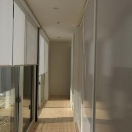 仙台 SOHOの家 OUCHI-18 (寝室前の廊下)