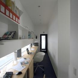 オウチ18・仙台 SOHOの家の写真 仕事部屋