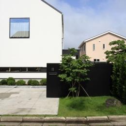 オウチ18・仙台 SOHOの家の写真 アプローチデザイン