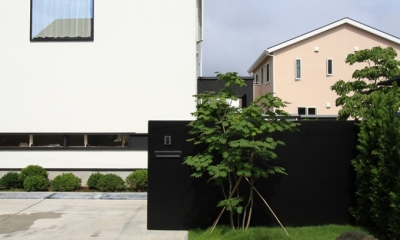 仙台 SOHOの家 OUCHI-18 (アプローチデザイン)