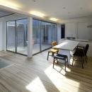 那波勉+那波奈津代の住宅事例「筑後の家」