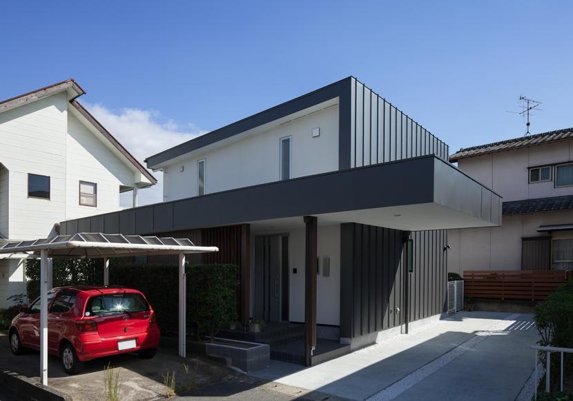 太宰府の家 (外観1)