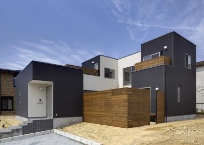 黒川の家 (外観2)