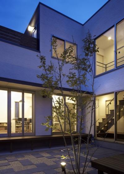 黒川の家 (外観3)