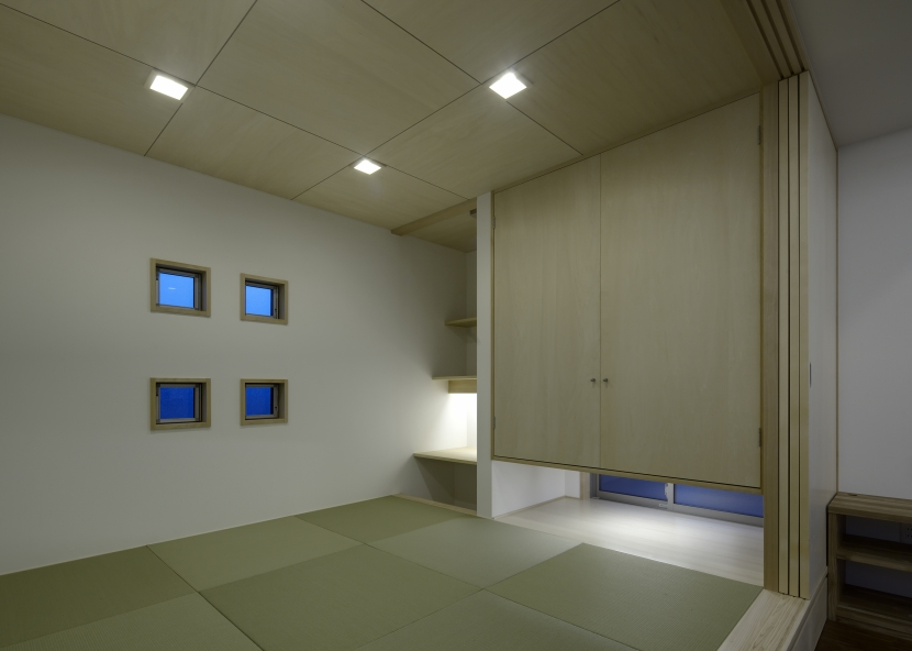 黒川の家の部屋 和室1