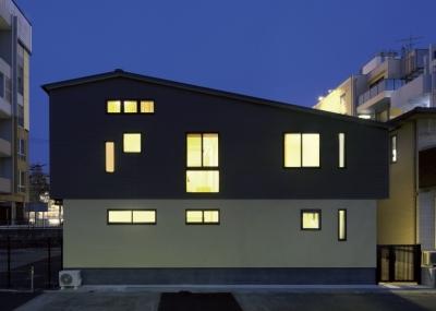 大橋の家 (外観1)