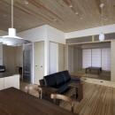 那波勉+那波奈津代の住宅事例「大橋の家」