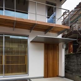 上高野の家 (外観(玄関)(撮影:松村芳治))