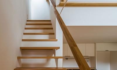 階段(撮影:松村芳治)|上高野の家