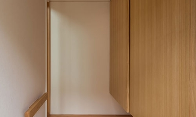 上高野の家 (玄関(撮影:松村芳治))