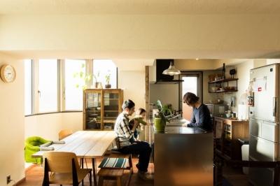 神戸市垂水区 リノベーション (リビング)