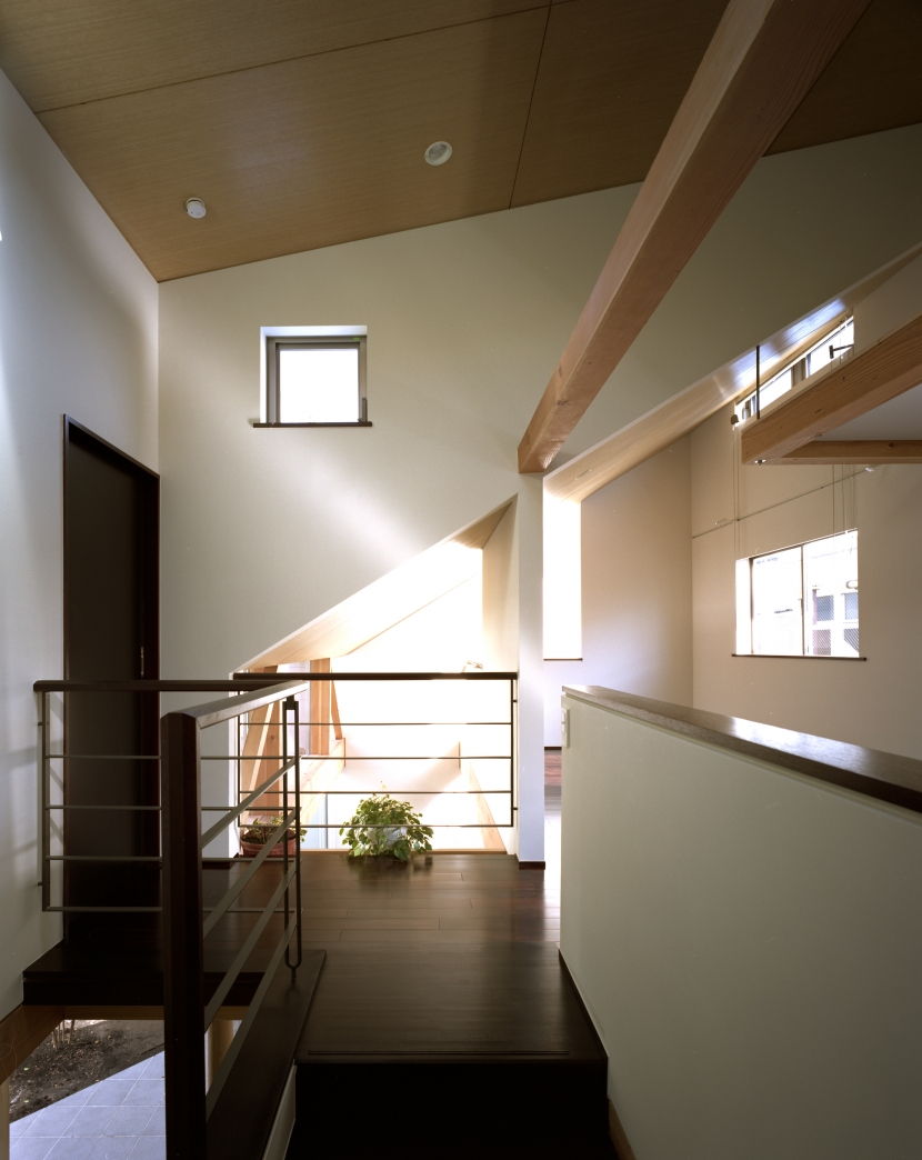 光をつなぐ家の部屋 2F 廊下