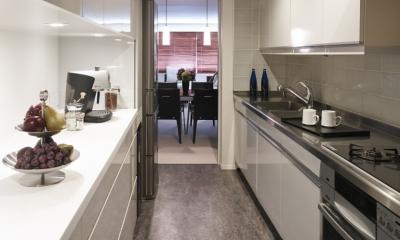 キッチン|趣味を飾る家