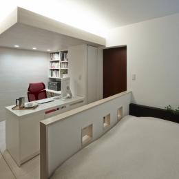 趣味を飾る家 (書斎 2)