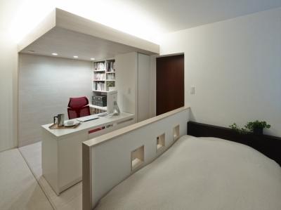 書斎 2 (趣味を飾る家)