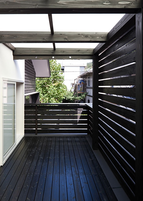 トキワの家の部屋 テラス(撮影:松村芳治)
