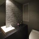 趣味を飾る家の写真 トイレ