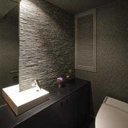 趣味を飾る家 (トイレ)