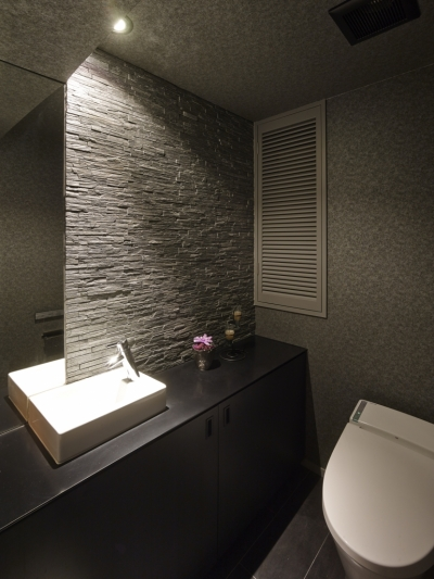 トイレ (趣味を飾る家)