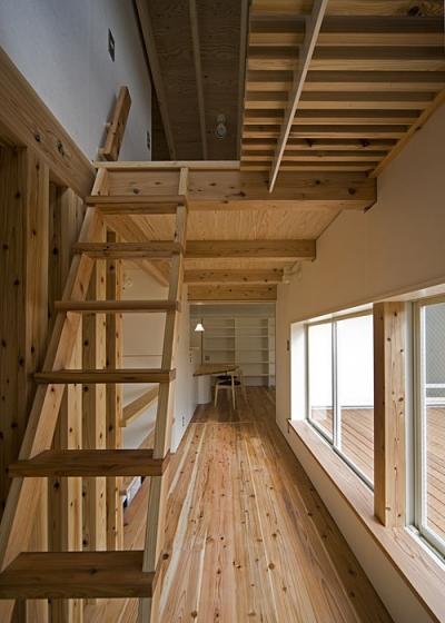 桂の家 (広縁(撮影:松村芳治))