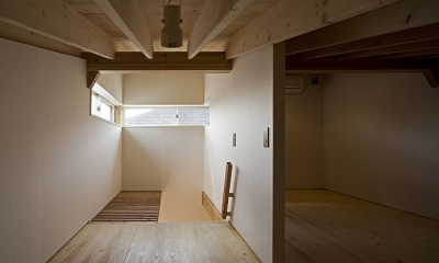 ロフト(撮影:松村芳治)|桂の家