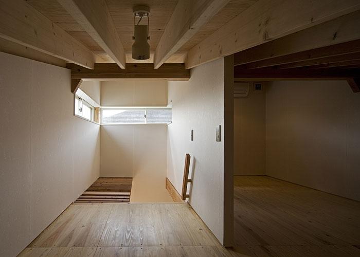 桂の家の部屋 ロフト(撮影:松村芳治)