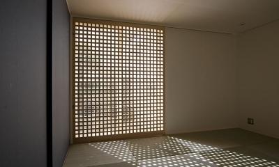 畳室(寝室)(撮影:松村芳治) 桂の家