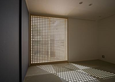 畳室(寝室)(撮影:松村芳治) (桂の家)