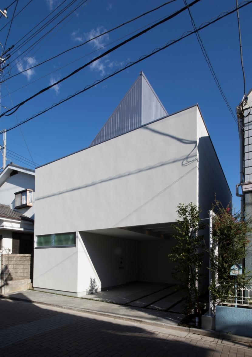 真間の家の写真 外観