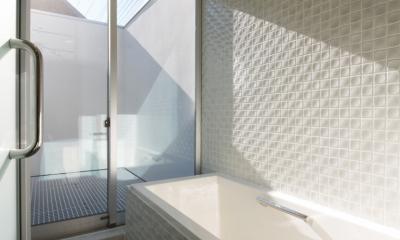 真間の家 (浴室)