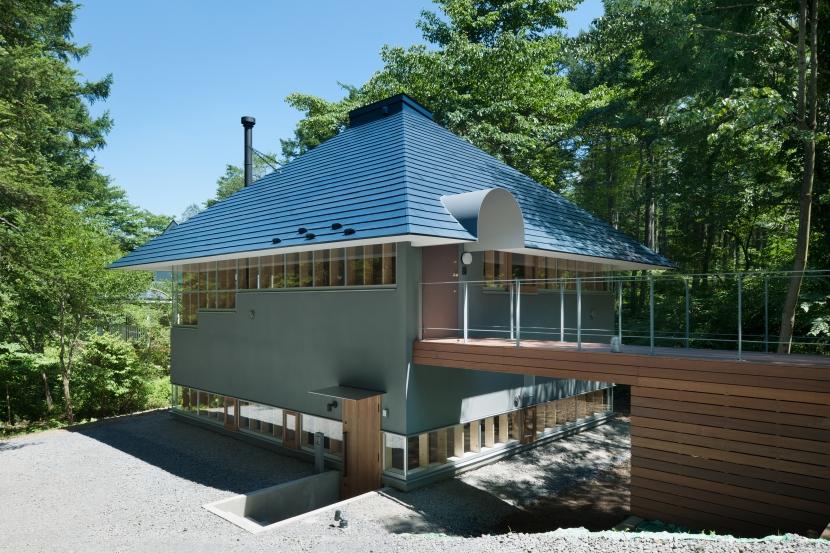 軽井沢Y邸の部屋 外観