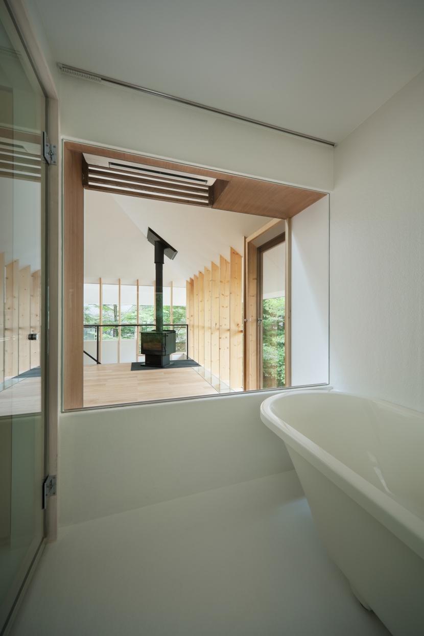 軽井沢Y邸の部屋 風呂