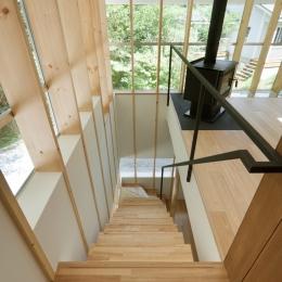 軽井沢Y邸 (階段)